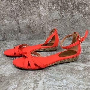 J. Crew Marina Mini-Wedge Espadrilles Sandals